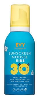 EVY Technology Sunscreen Mousse SPF30 Kids 150 ml